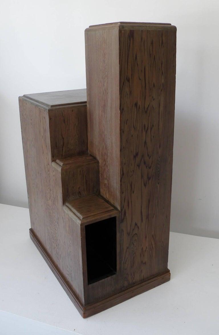 American Art Deco Skyscraper Accent Table Style Paul Frankl Streamline Moderne For Sale