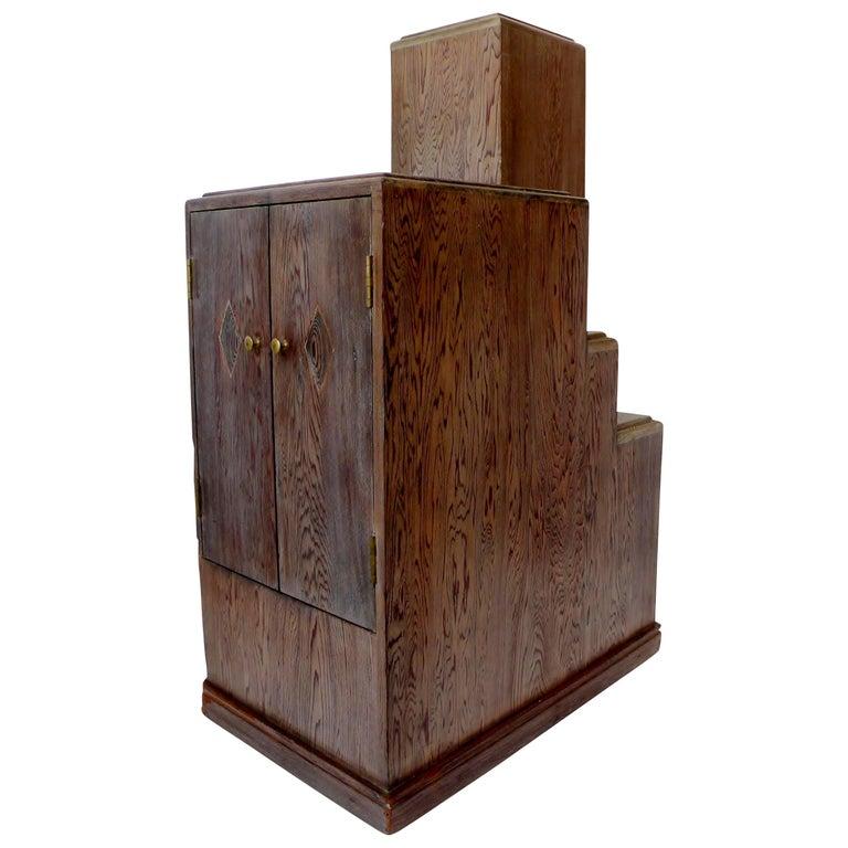 Art Deco Skyscraper Accent Table Style Paul Frankl Streamline Moderne For Sale