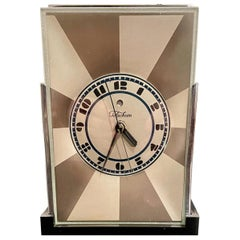 Art Deco Skyscraper Warren Telechron Clock Modernique by Paul Frankl, 1928