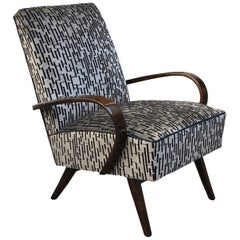 Art Deco Small Armchair
