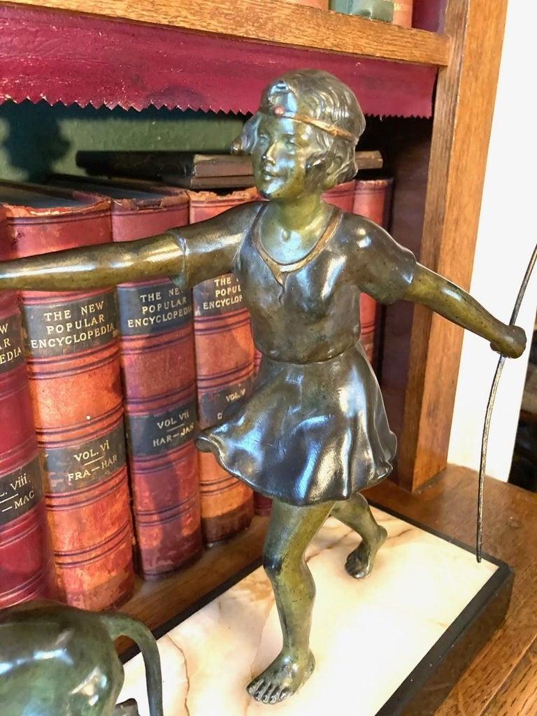 Art Deco Spelter Figure, French, circa 1930 2