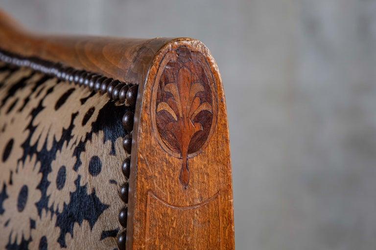 Art Deco Spoon Back Armchair 2