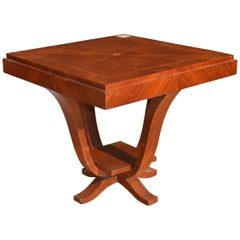 Art Deco Square Dining Table in Rosewood, 1925
