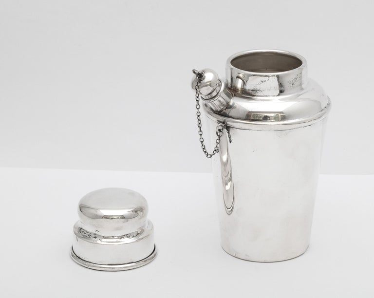 Art Deco Sterling Silver Cocktail Shaker - by Currier & Roby 7