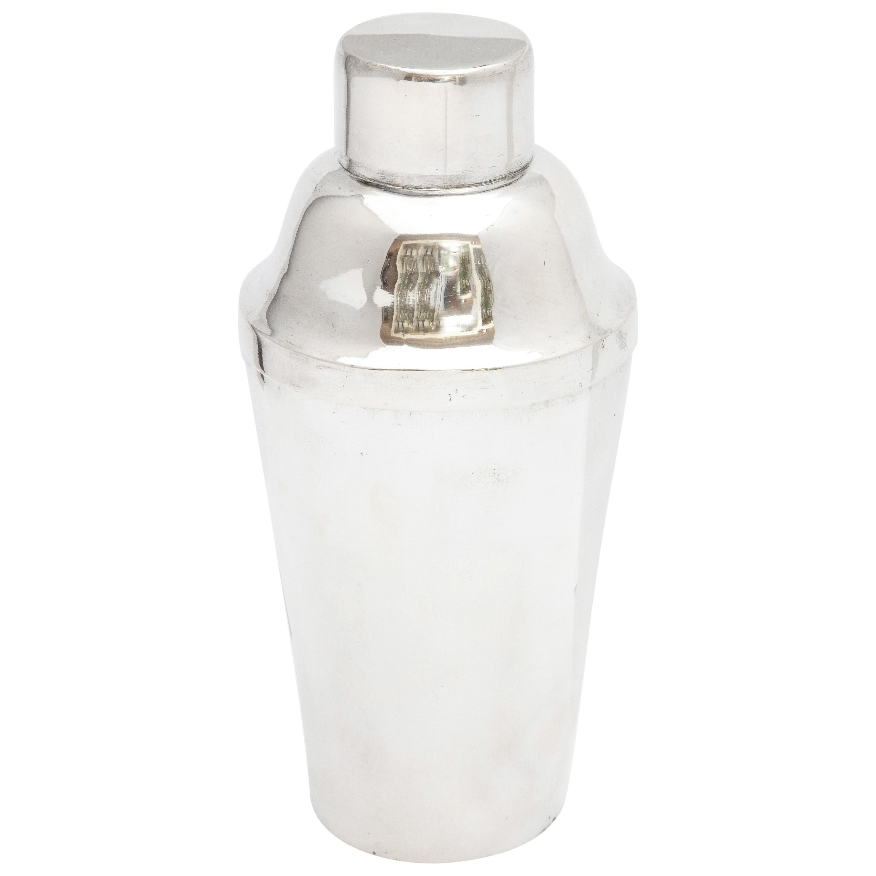 Art Deco Sterling Silver Cocktail Shaker