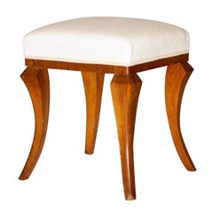 Art Deco Stool Ottoman, Footstool