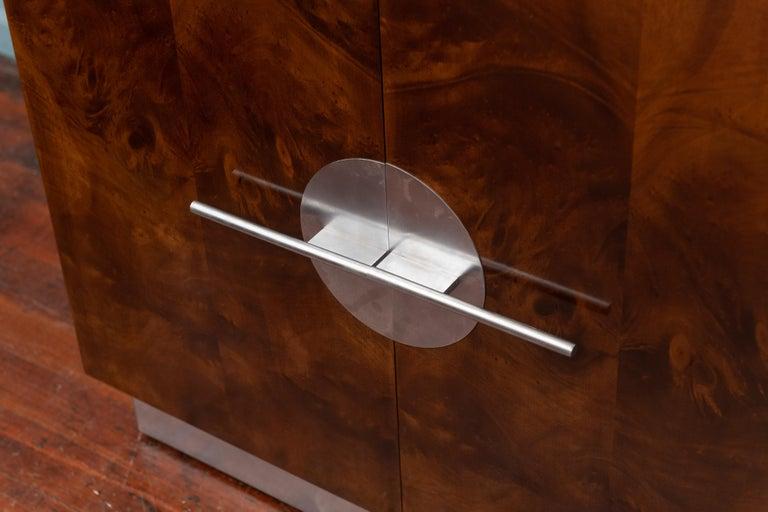 American Art Deco Streamline Cabinet by Walter Dorwin Teague For Sale