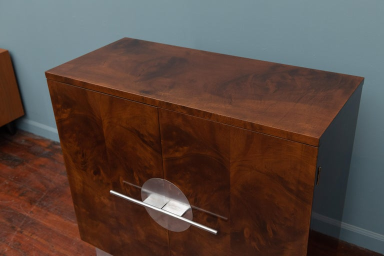 Art Deco Streamline Cabinet by Walter Dorwin Teague In Good Condition For Sale In San Francisco, CA