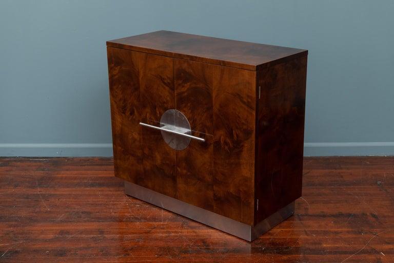 Mid-20th Century Art Deco Streamline Cabinet by Walter Dorwin Teague For Sale
