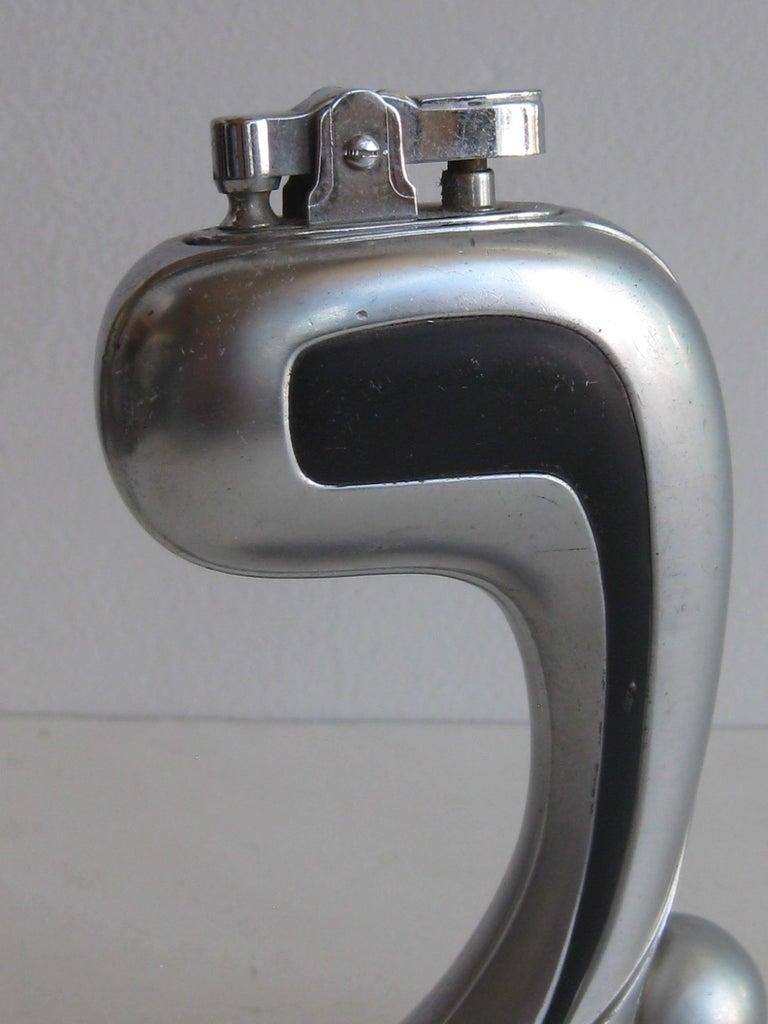 Art Deco Streamline Skyscraper Figural Table Lighter For Sale 1