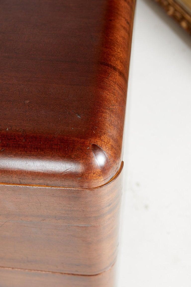 Art Deco Streamlined Bentwood Pedestal Desk by Paul Goldman for Plymold Co. 10