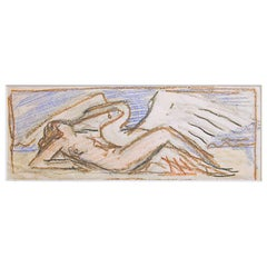 "Art Deco Studies, ""Leda and the Swan"" by William Hunt Diederich"