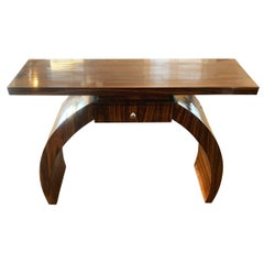 Art Deco Style Arched Hall Table or Console Table