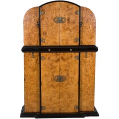 Art Deco Style Bar Liquor Cabinet