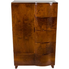 Art Deco Style Bedroom Wardrobe Armoire Closet