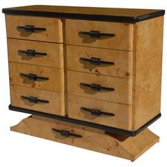 Art Deco Style Burl Dresser