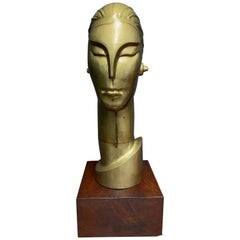 Art Deco Style Bust