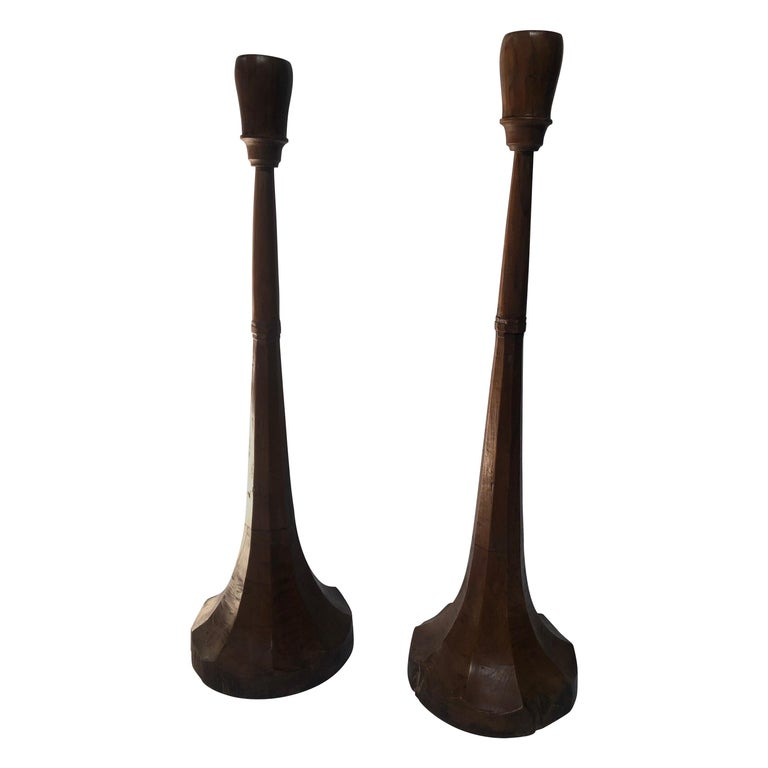 Art Deco Style Candlesticks For Sale