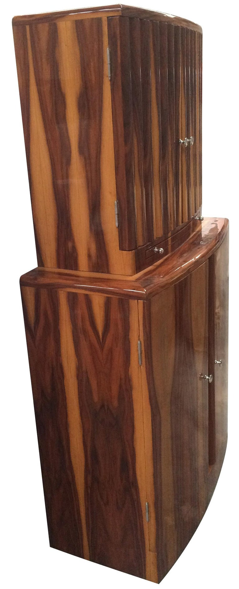 Art Deco Style Cocktail Cabinet Dry Bar 2