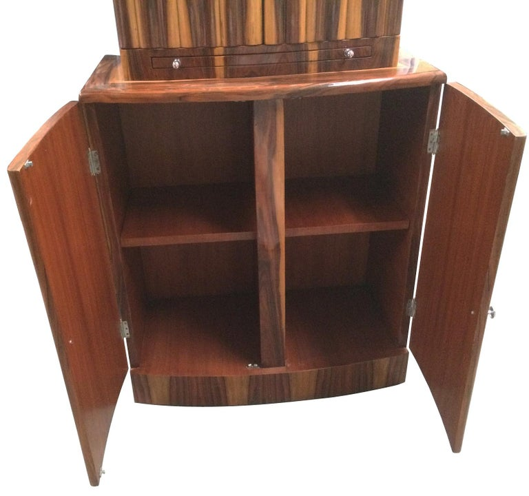 Art Deco Style Cocktail Cabinet Dry Bar 3