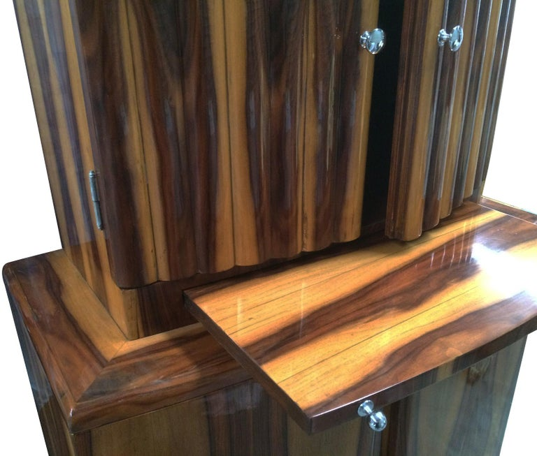 Art Deco Style Cocktail Cabinet Dry Bar 5