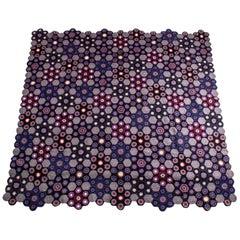 Art Deco Style Crocheted Medallion Blanket by Kokon to Zai