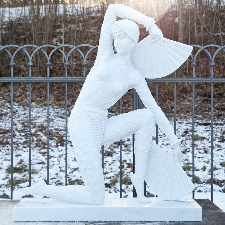 Art Deco-Style Dancer, 21st Century In Good Condition For Sale In Greding, DE