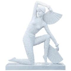 Art Deco-Style Dancer, 21st Century