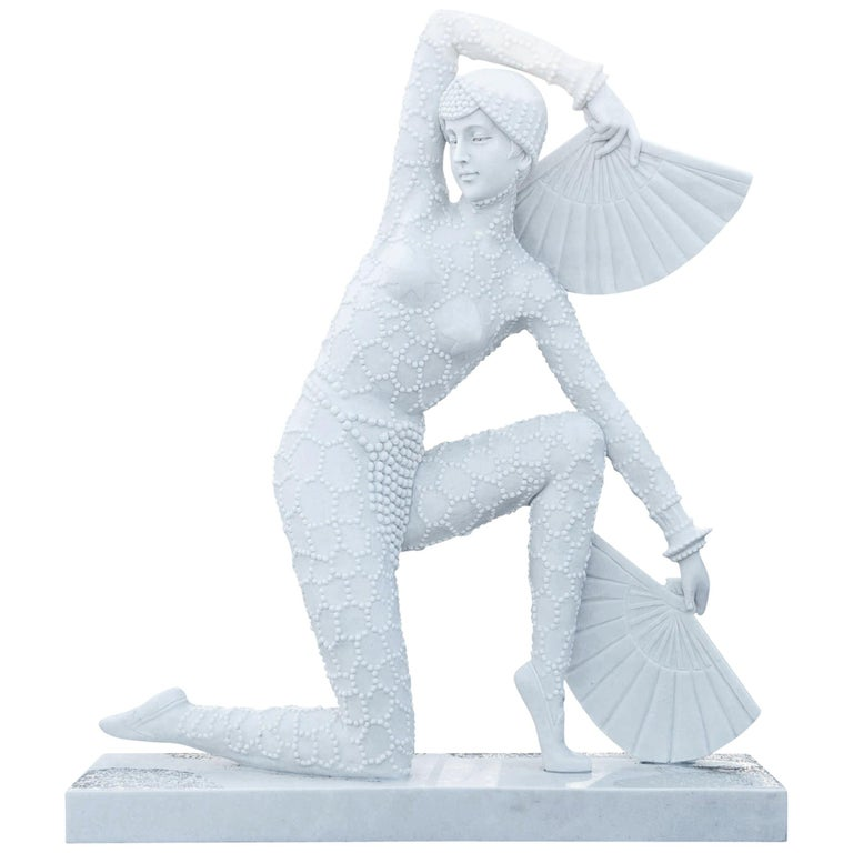 Art Deco-Style Dancer, 21st Century For Sale