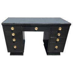 Art Deco Style Desk in the Manner of Norman Bel Geddes