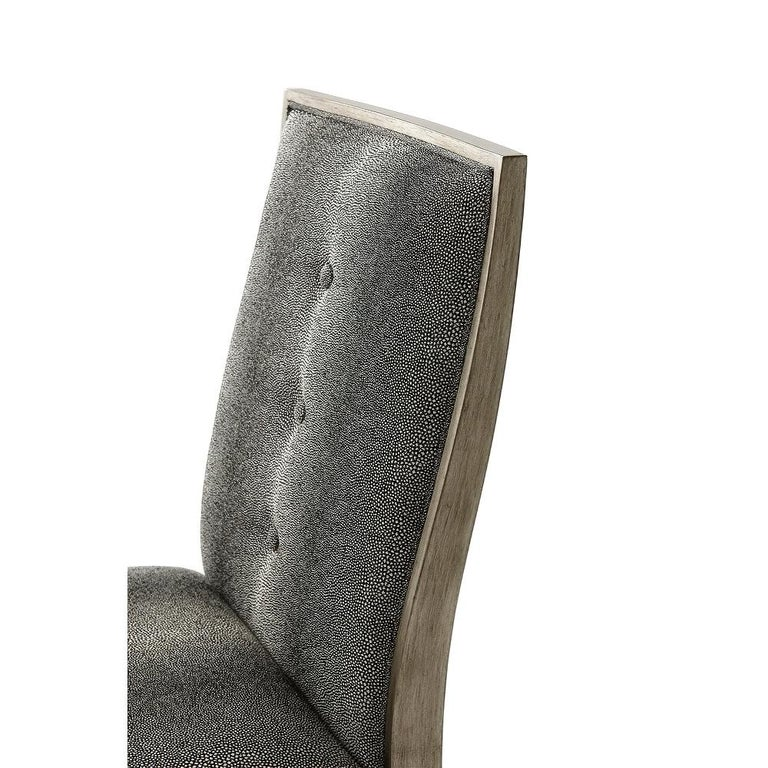 Contemporary Art Deco Style Dining Chair For Sale
