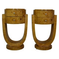 Art Deco Style End Table/Nightstand