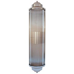 Art Deco Style Grand Theater Glass Rod Wall Sconces