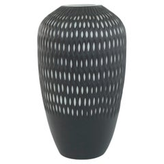 Art Deco Style Large Glass Decorative Vase