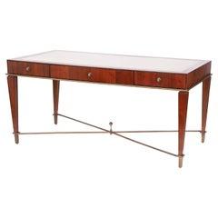 Art Deco Style Leather Top Desk