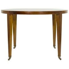 Art Deco Stil Spieltisch aus Mahagoni