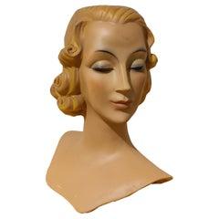 Art Deco Style Mannequin, 1960s