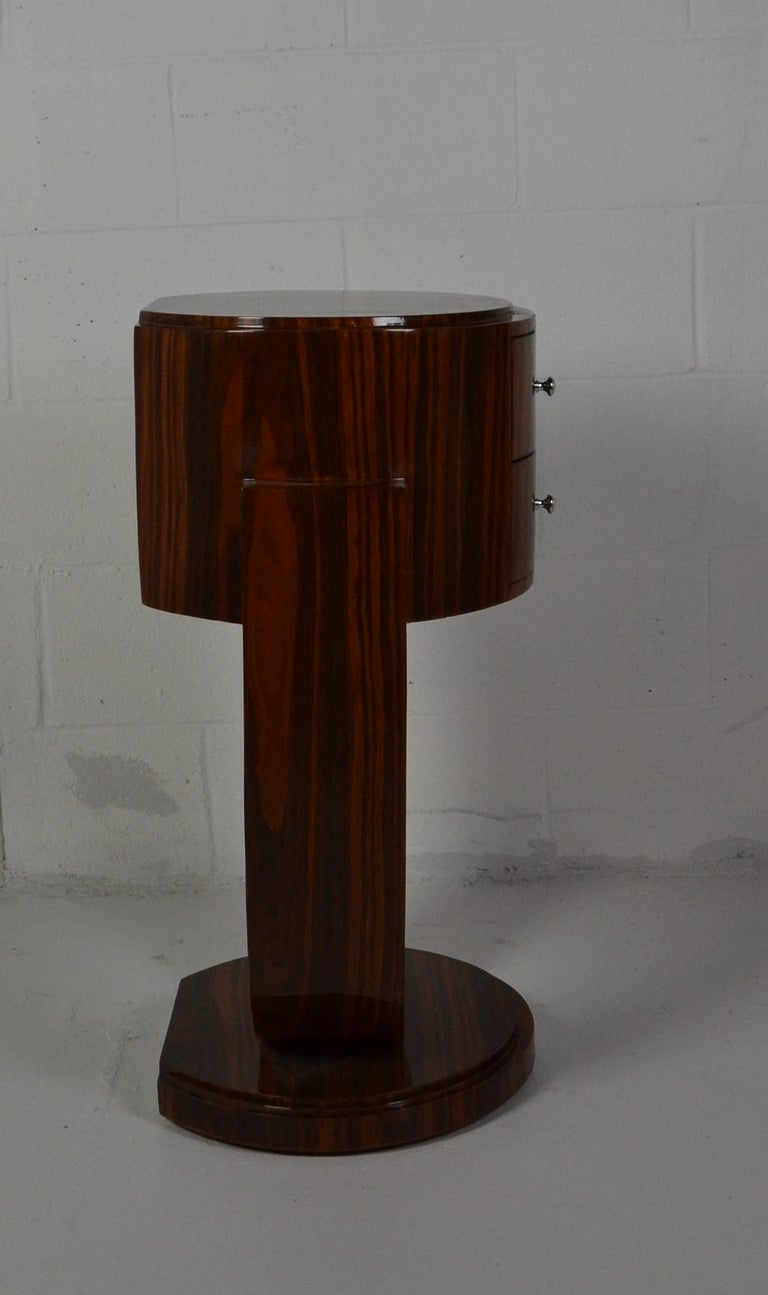 Art Deco Style Rosewood Nightstands For Sale 2