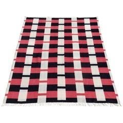 Art Deco Style Roslyn Wool Throw Blanket