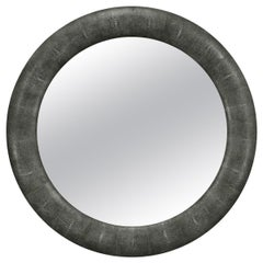 Art Deco Style Round Mirror