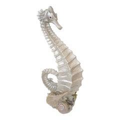 Art Deco Style Seahorse Sculpture
