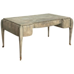 Art Deco Style Shagreen Desk by Maitland Smith