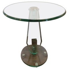 Art Deco Style Side or End Table in the School of Danny Lane