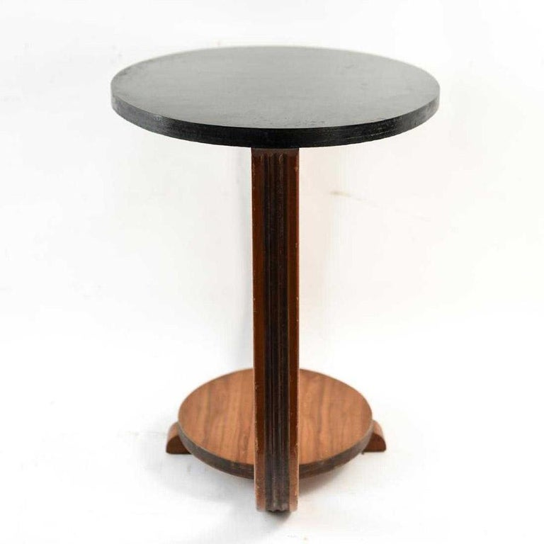 American Art Deco Style Side Table For Sale