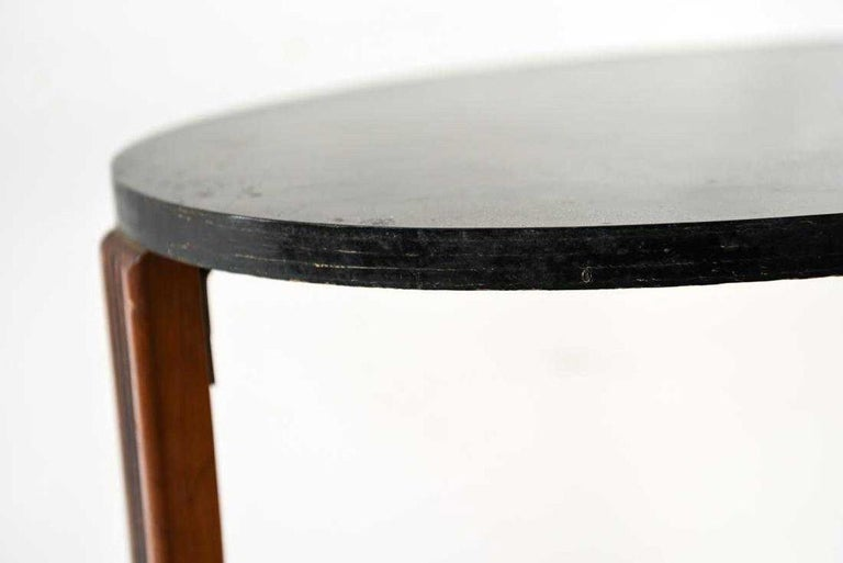 Art Deco Style Side Table In Good Condition For Sale In Great Barrington, MA
