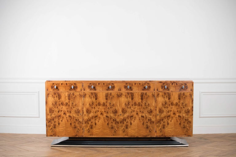 English Art Deco Style Sideboard by Restall Brown and Clennell For Sale