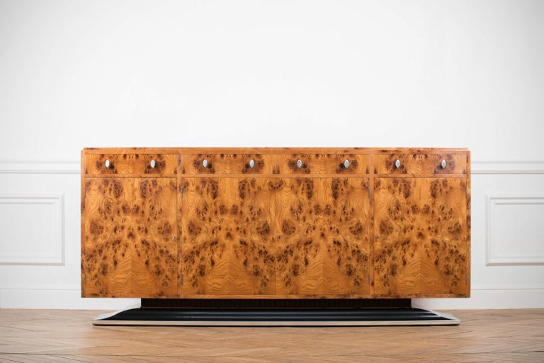 Art Deco Style Sideboard by Restall Brown and Clennell In Good Condition For Sale In Asnières-sur-Seine, France
