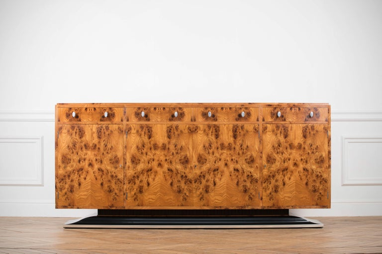 Late 20th Century Art Deco Style Sideboard by Restall Brown and Clennell For Sale
