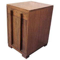 Art Deco Style Teak Wood Cupboard