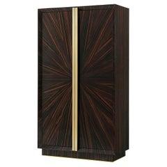 Art Deco Style Two-Door Cabinet